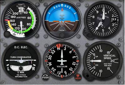 Ground School - Cessna 172 - noções básicas de instrumentos 211