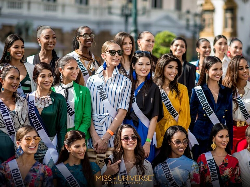 © PAGEANT MANIA © MISS UNIVERSE 2018 - OFFICIAL COVERAGE Finals - Page 31 47382710