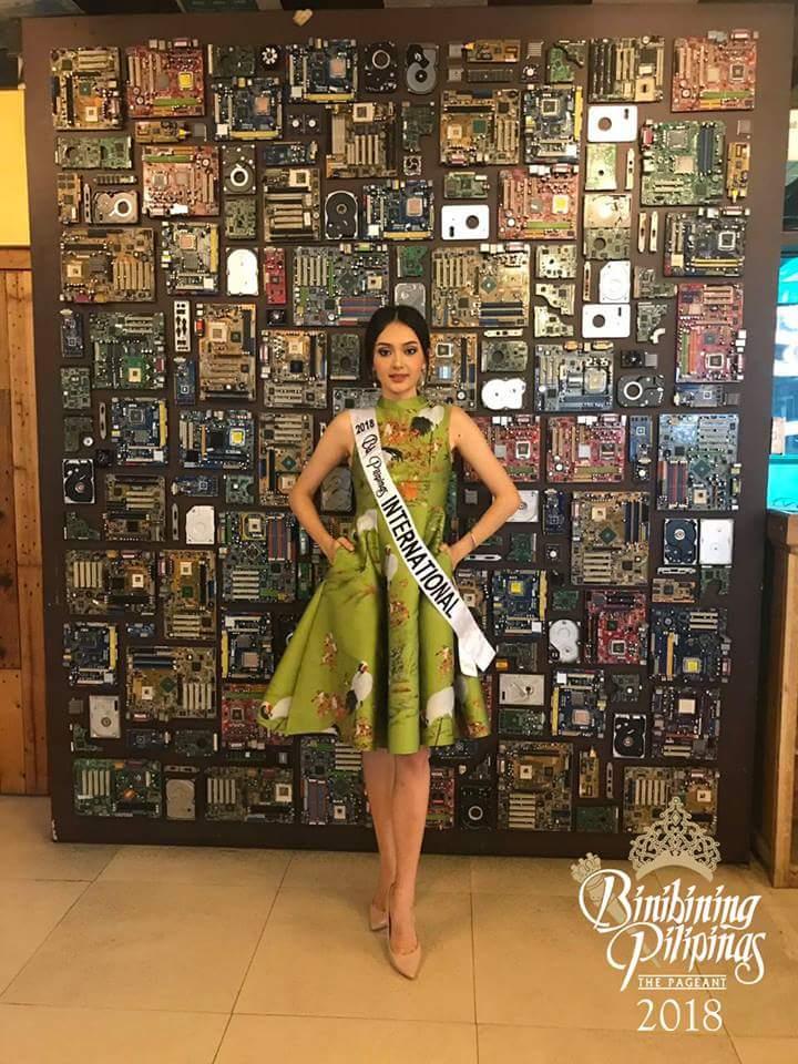 BINIBINING PILIPINAS - INTERNATIONAL 2018: Ma Ahtisa Manalo  Fb_im433