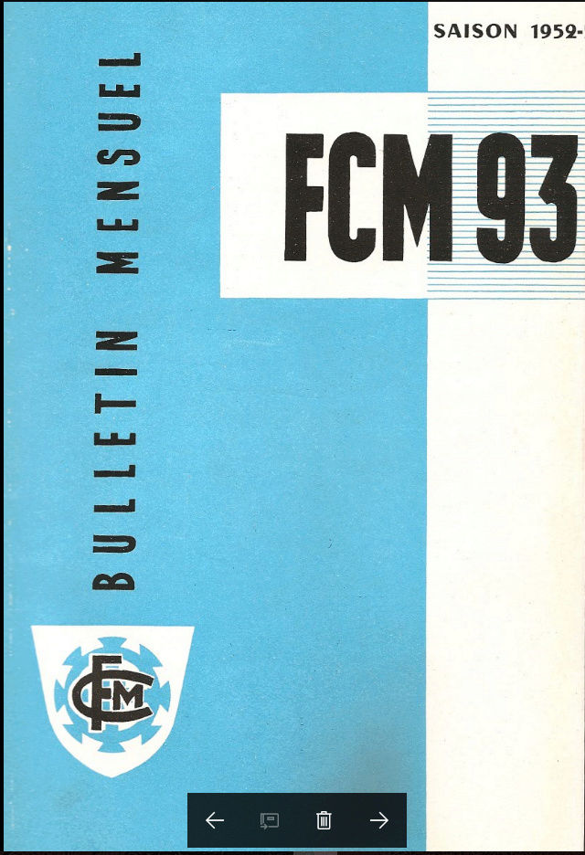 Programmes, plaquettes, fanzines et autres au fil du temps. Bullet11