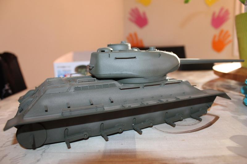 T34/85 Tamiya 1/25 canon métallique Aber  Img_5716