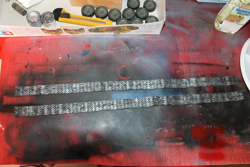 T34/85 Tamiya 1/25 canon métallique Aber  - Page 2 Img_5727