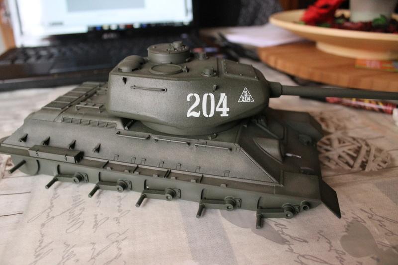 T34/85 Tamiya 1/25 canon métallique Aber  - Page 2 Img_5815