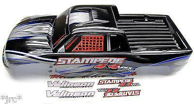 Transformer un Rustler en Stampede 4x2 Carros10