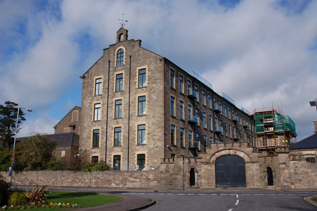 Old Spinning Mill, usine de la famille Andrews Former10