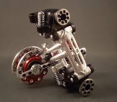 9 vitesses indexées avec dérailleur friction, Cannondale Synapse et Huret Jubilée inside Images11