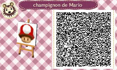 Mes petits QR codes Champi10