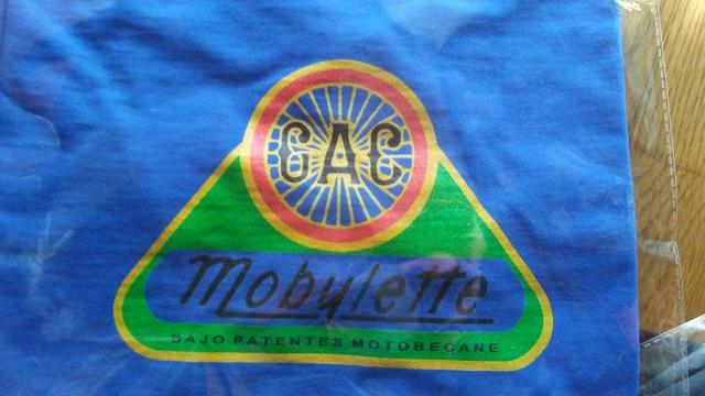Camisetas logo G.A.C. Mobylette 2019 20180318