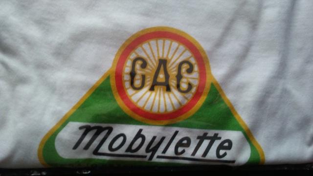 Camisetas logo G.A.C. Mobylette 2019 20180320