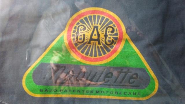 Camisetas logo G.A.C. Mobylette 2019 20180321