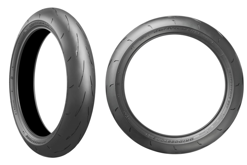 NEW - Bridgestone Battlax Racing R11  Front-10