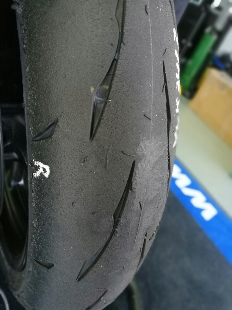 NEW - Bridgestone Battlax Racing R11  R11_mo11