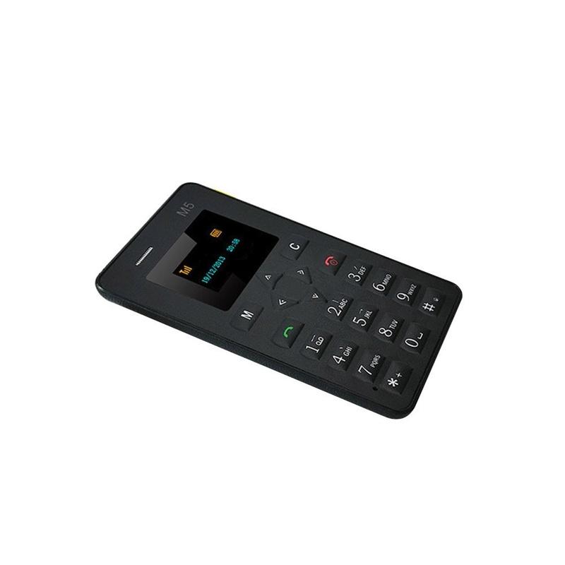 Sécu:Mini Téléphone portable de poche format carte de crédit 51ymdg10