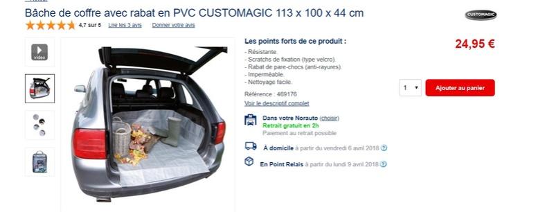 Housse de protection pour partie arrière de voiture : Projet participatif Sans_t10