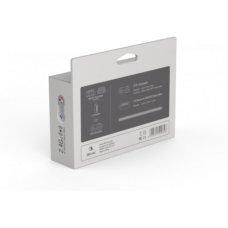8Bitdo Sf30-Sn30 2.4G sur Belchine.net 8bitdo11