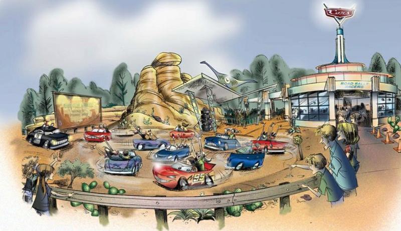 [Parc Walt Disney Studios] Nouvelle zone La Reine des Neiges  (202?) > infos en page 1 - Page 4 3f723210