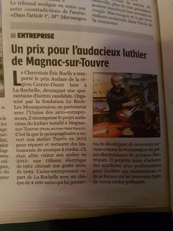 Luthier près d'Angoulème (Charente) Atelie10