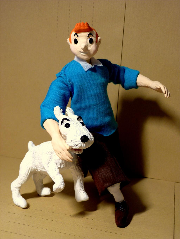 Tintin, Milou et le capitaine Haddock P1080511