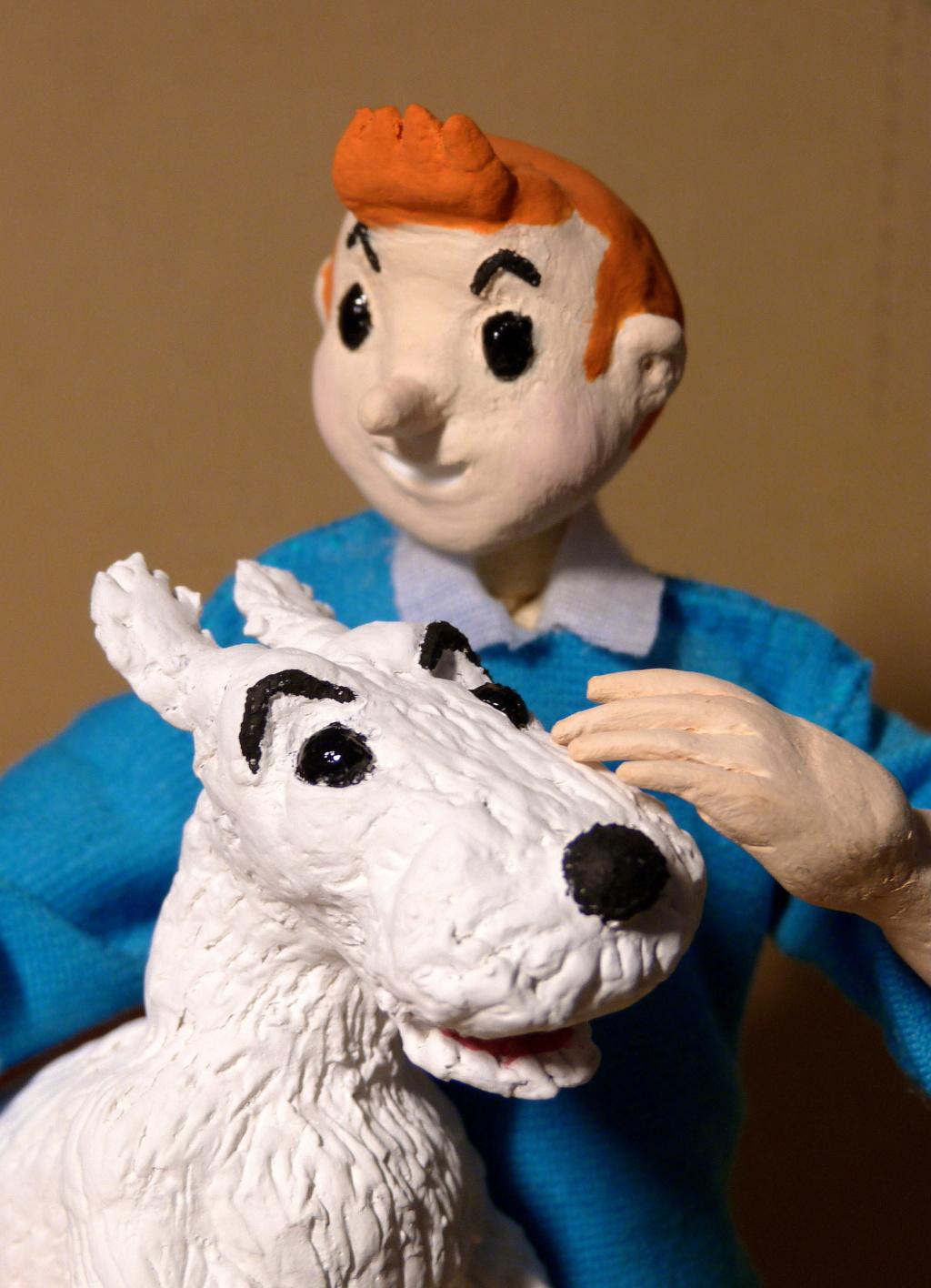 Tintin, Milou et le capitaine Haddock P1080512