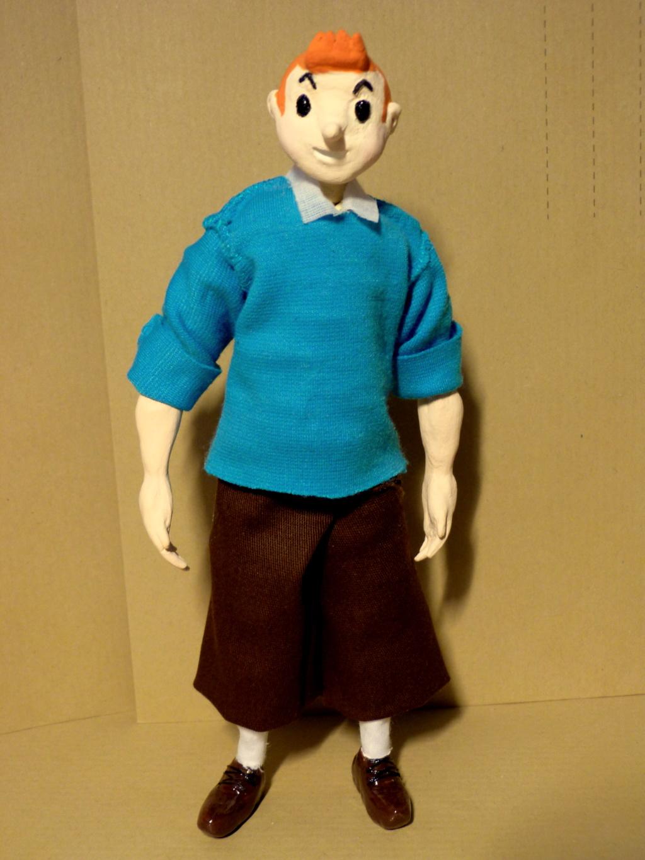 Tintin, Milou et le capitaine Haddock P1080515
