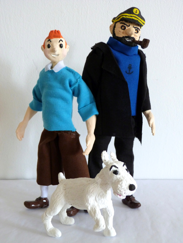 Tintin, Milou et le capitaine Haddock P1080711