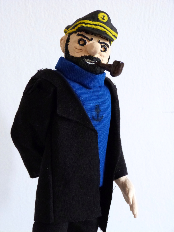 Tintin, Milou et le capitaine Haddock P1080712