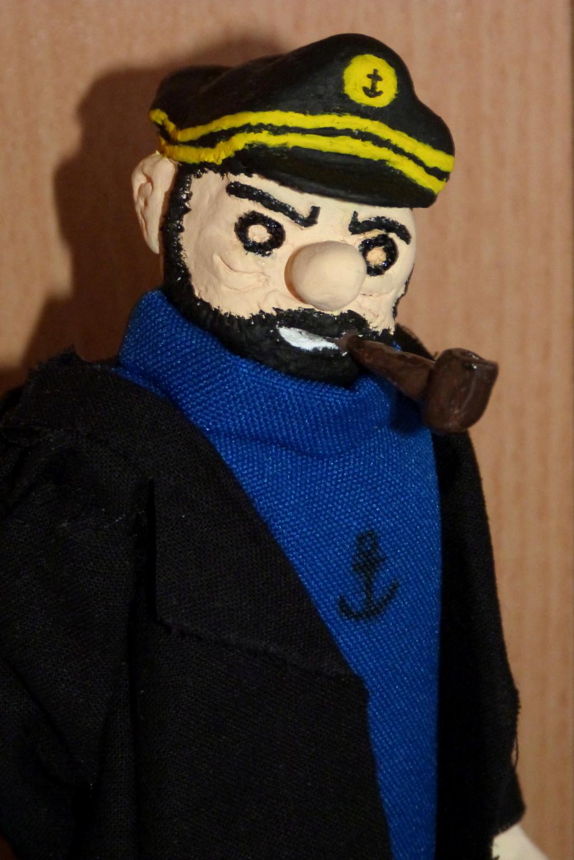 Tintin, Milou et le capitaine Haddock P1080713