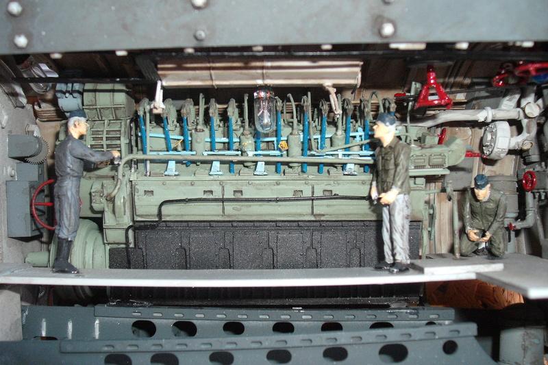 U-BOAT TYPE VIIC U-552 DEUTSCH KRIEGSMARINE 1942 1/48 Dscf7612