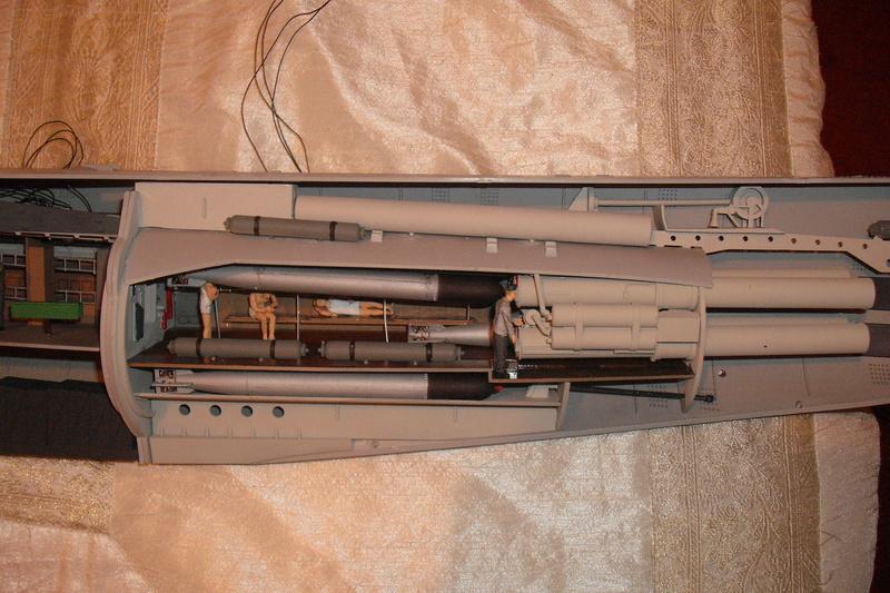 U-BOAT TYPE VIIC U-552 DEUTSCH KRIEGSMARINE 1942 1/48 Dscf7820