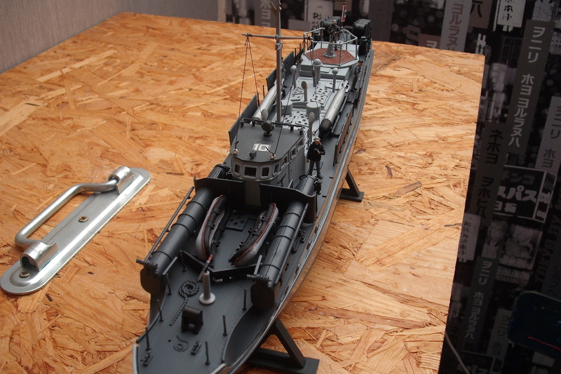 E boat au 1/72 Dscf7840