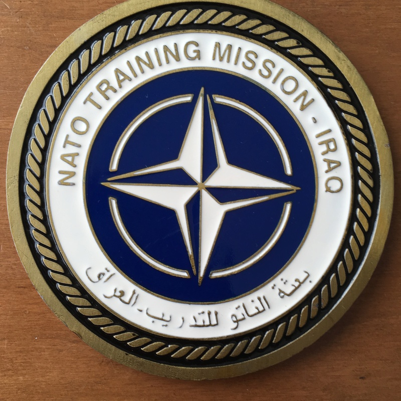 Big Size  Challenge Coin NATO Training Mission – Iraq 2004 Img_2611