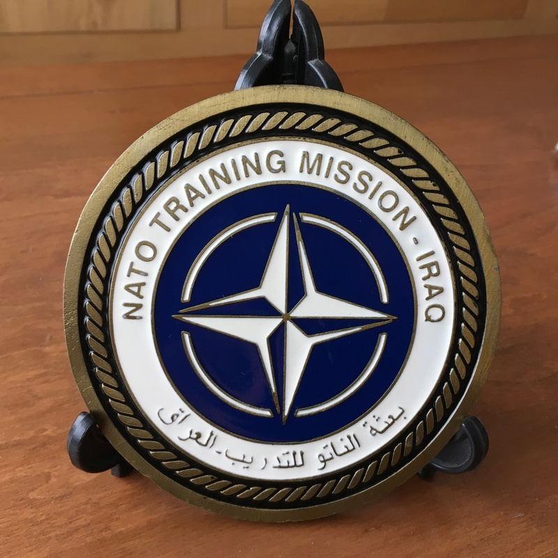 Big Size  Challenge Coin NATO Training Mission – Iraq 2004 Img_2613