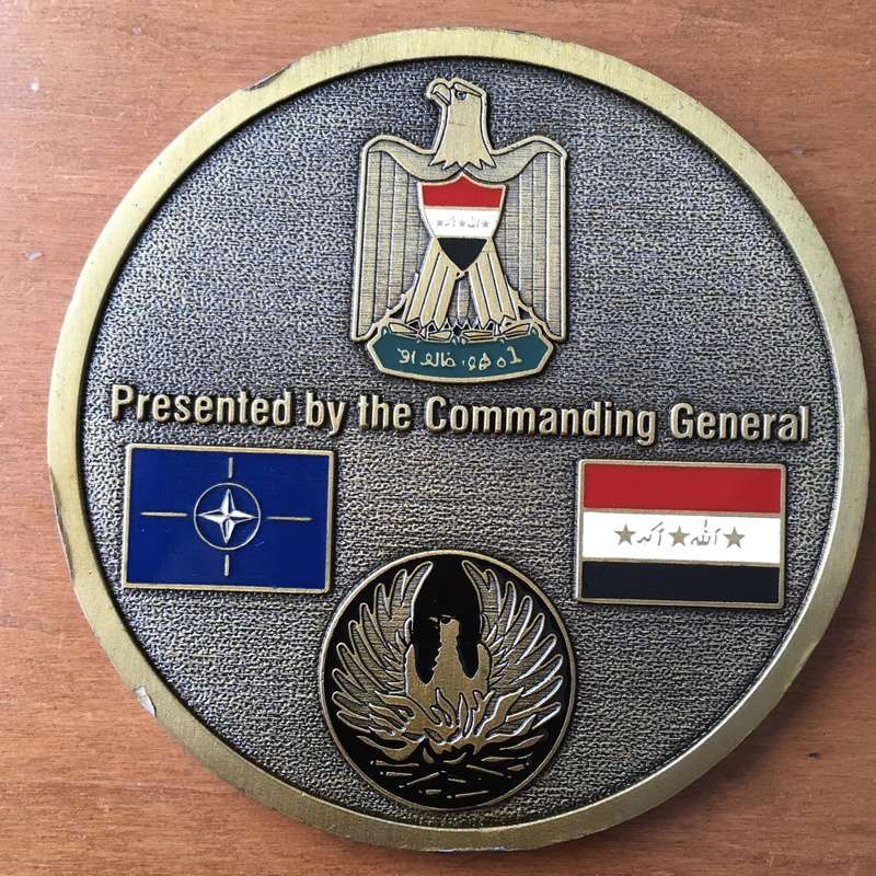 Big Size  Challenge Coin NATO Training Mission – Iraq 2004 Img_2614