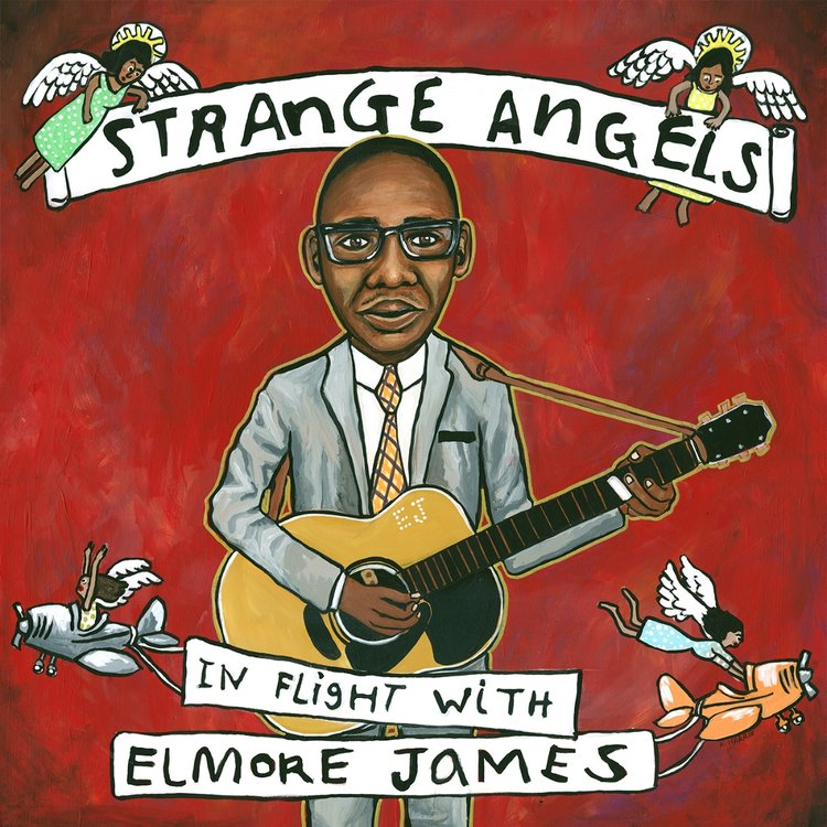 Various Artists Strange Angels In Flight with Elmore James Album110
