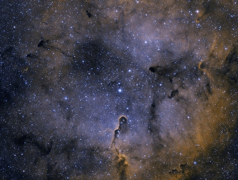 IC 1396 HOO FIRST LIGHT FSQ 85  Ic_13910