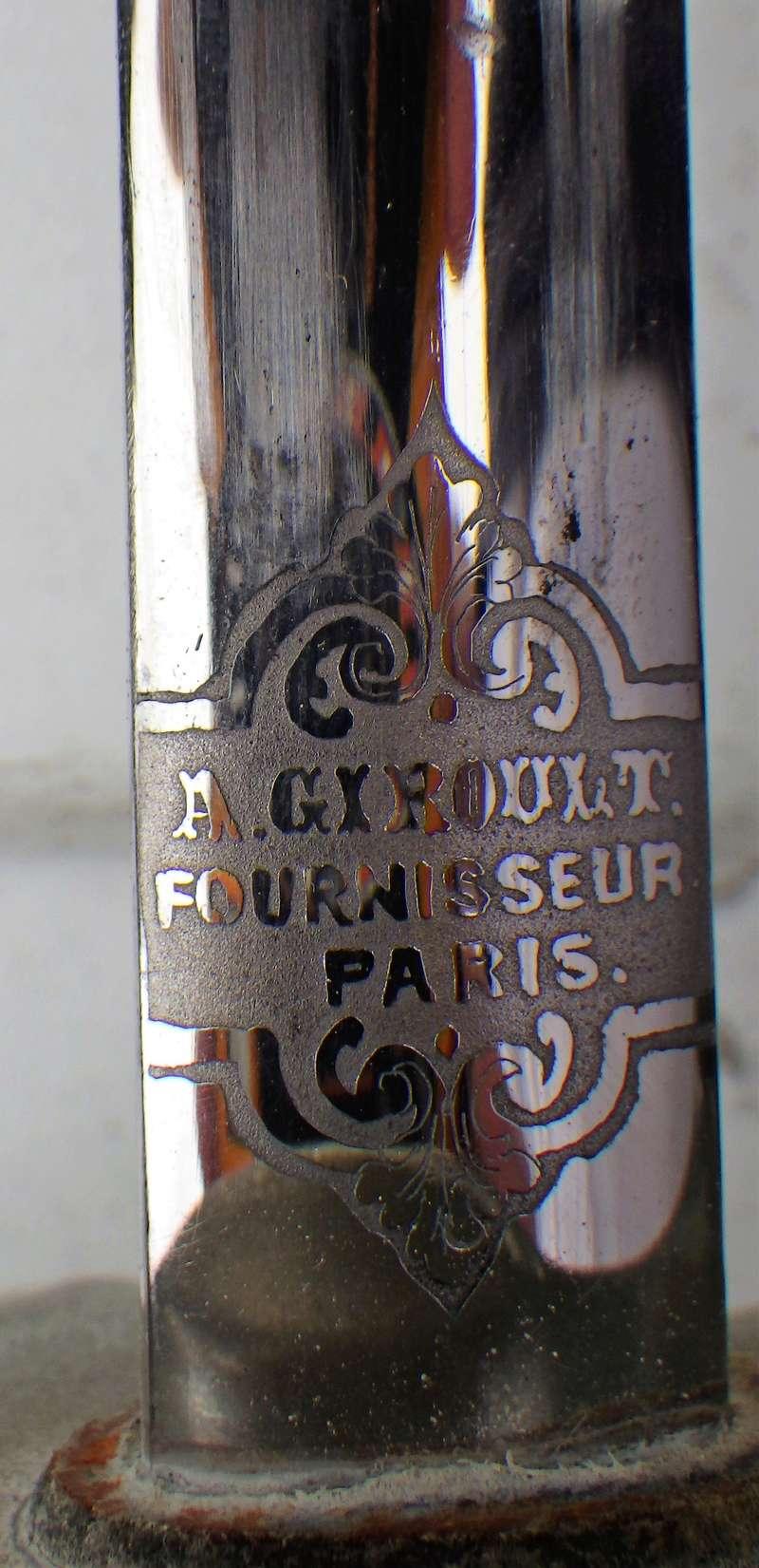 Trois sabres a l'authentification et éstimation (belge et français) Rimg1338