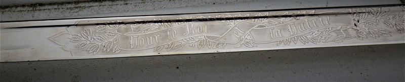 Trois sabres a l'authentification et éstimation (belge et français) Rimg1348