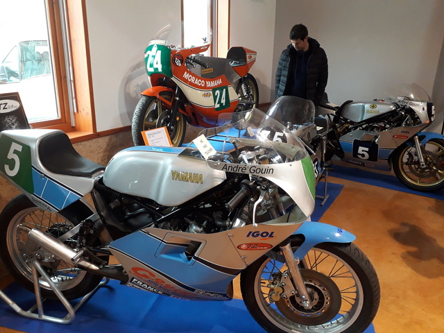 8 Avril à Champoly (42) bourse expo motos anciennes 20180430