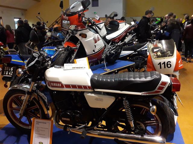 8 Avril à Champoly (42) bourse expo motos anciennes 20180433