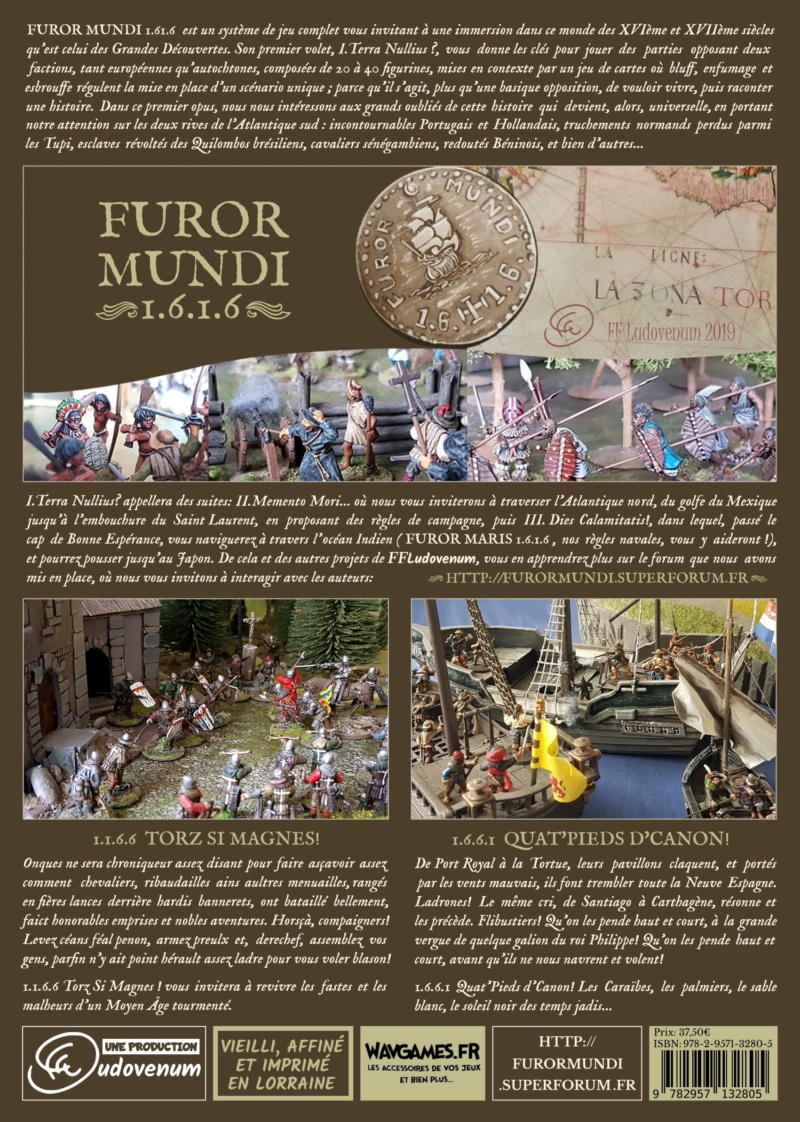 FUROR MUNDI 1.6.1.6 - Terra Nullius - XVIe et XVIIe SIECLES - Page 2 4couvd11