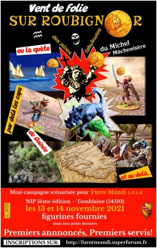 [NIP V] INVITATION A ROUBIGNOR - mini campagne Furor Mundi - 13 ET 14 NOV -  NANCY Compob19