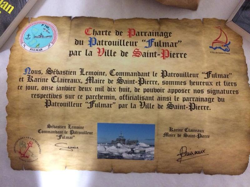 [Les traditions dans la Marine] Les Villes Marraines - Page 11 Chartr10