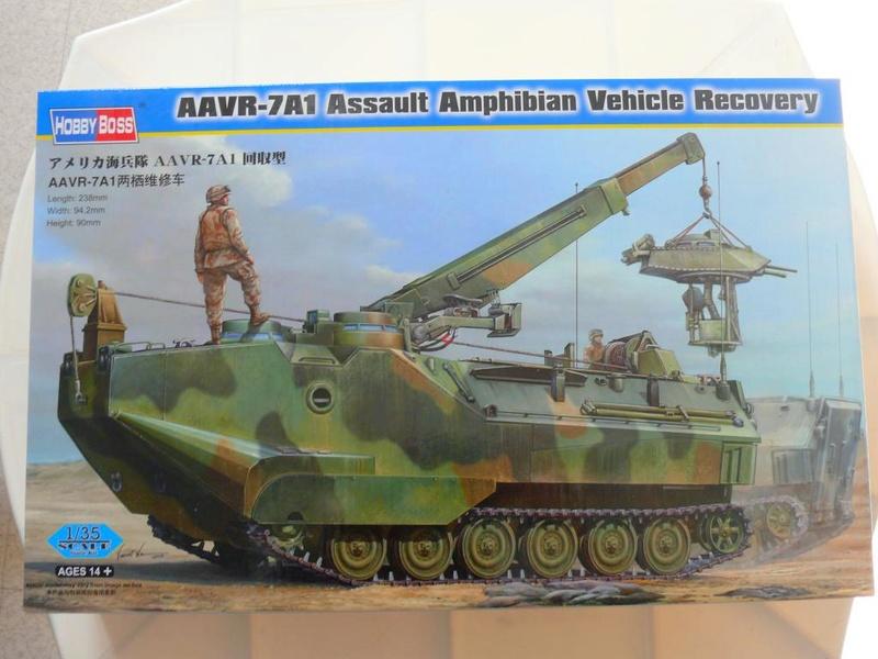 AAVR 7A1 Assault Amphibian Vehicle Recovery de Hobby Boss au 1/35 1_110