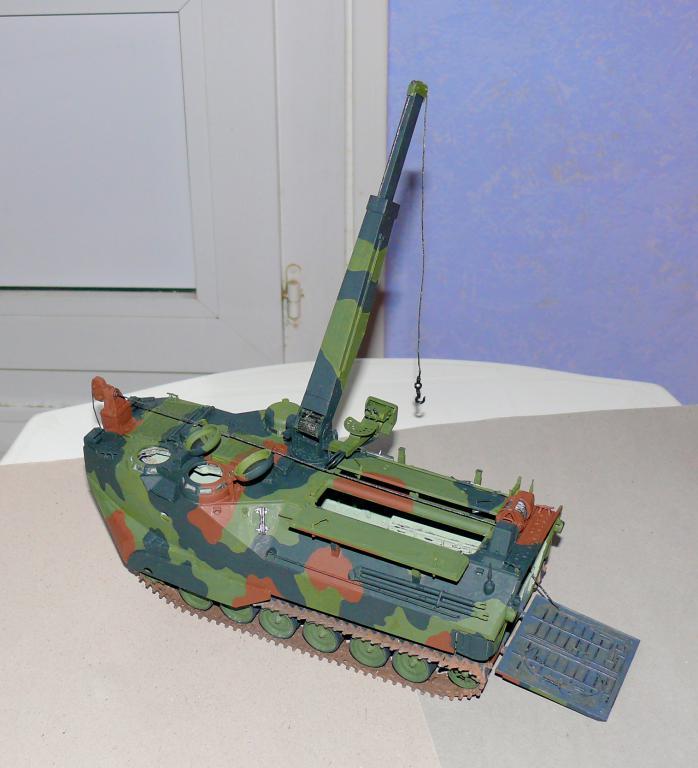 AAVR 7A1 Assault Amphibian Vehicle Recovery de Hobby Boss au 1/35 1_12210