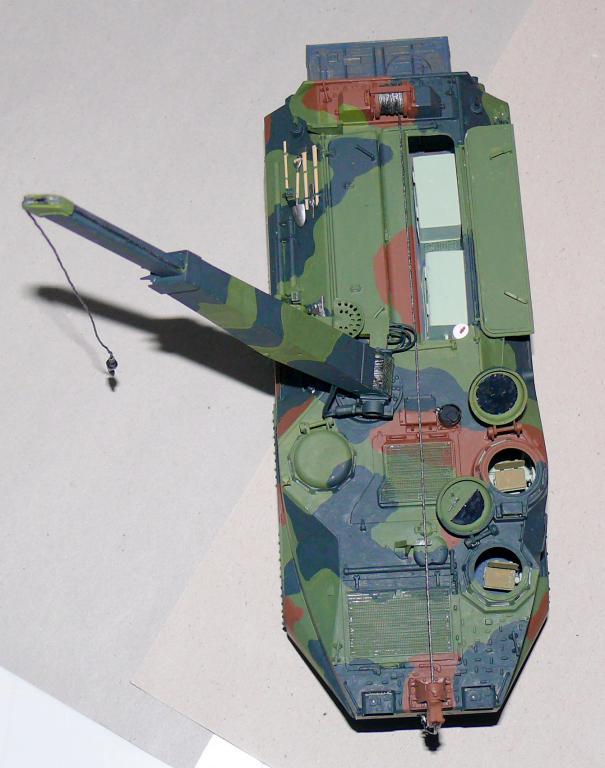 AAVR 7A1 Assault Amphibian Vehicle Recovery de Hobby Boss au 1/35 1_12910