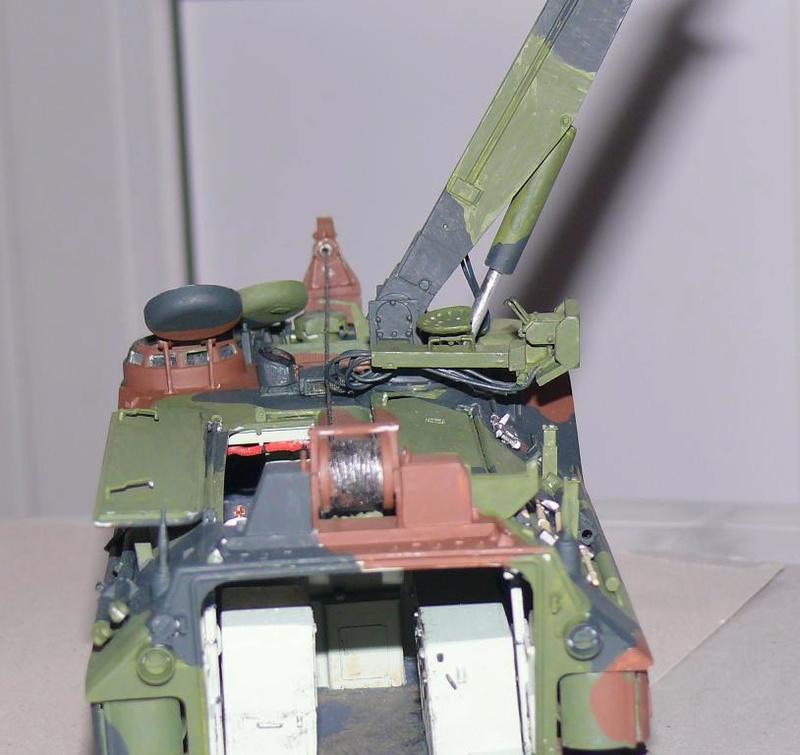 AAVR 7A1 Assault Amphibian Vehicle Recovery de Hobby Boss au 1/35 1_13510