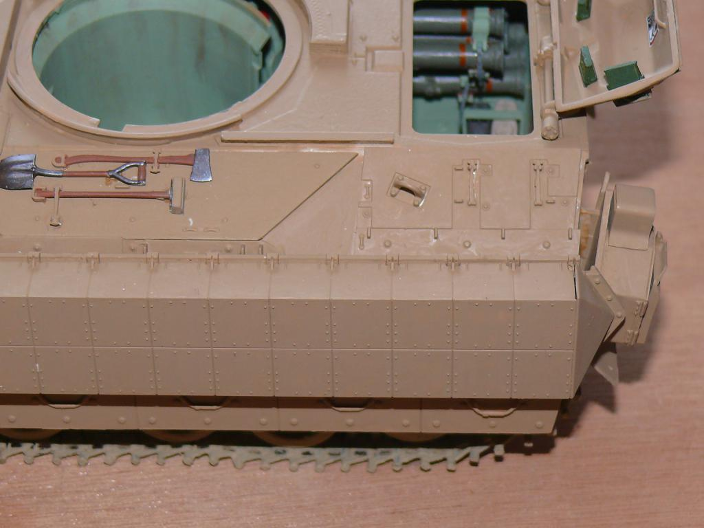M3A3 BRADLEY w/BUSK III U.S. CAVALRY FIGHTING VEHICLE DE MENG Au 1/35 Bradle16