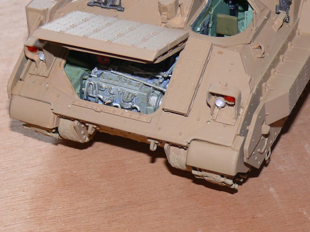 M3A3 BRADLEY w/BUSK III U.S. CAVALRY FIGHTING VEHICLE DE MENG Au 1/35 Bradle25