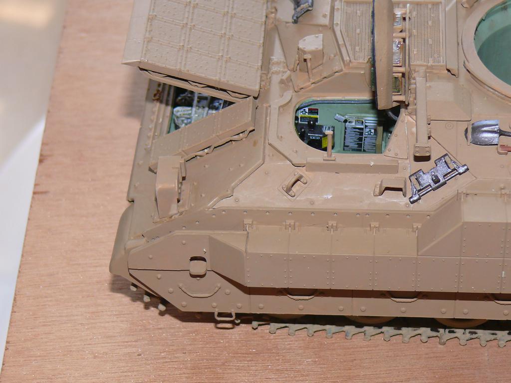 M3A3 BRADLEY w/BUSK III U.S. CAVALRY FIGHTING VEHICLE DE MENG Au 1/35 Bradle26