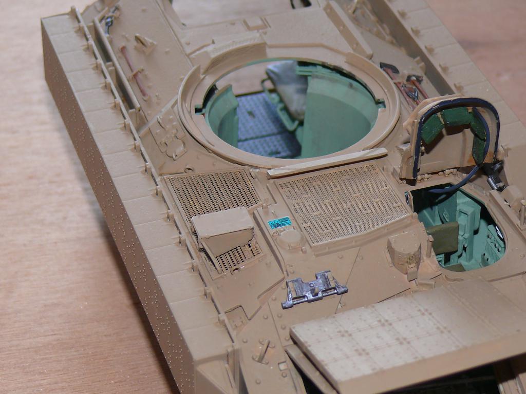 M3A3 BRADLEY w/BUSK III U.S. CAVALRY FIGHTING VEHICLE DE MENG Au 1/35 Bradle27